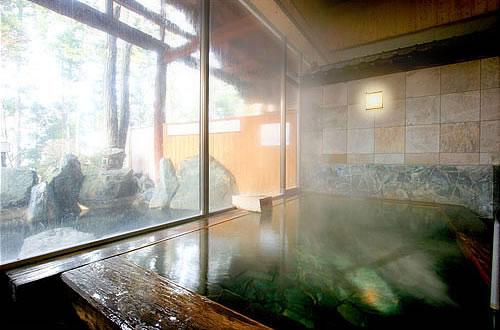 猿ヶ京温泉 湯豆のやど 本伝 檜風呂イメージ