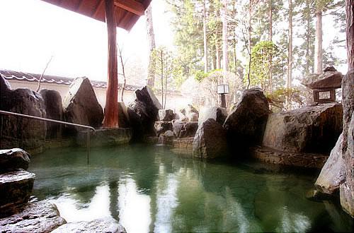 猿ヶ京温泉 湯豆のやど 本伝 露天風呂イメージ