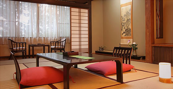 猿ヶ京温泉 湯豆のやど 本伝 一般客室イメージ 和室12畳+広縁付