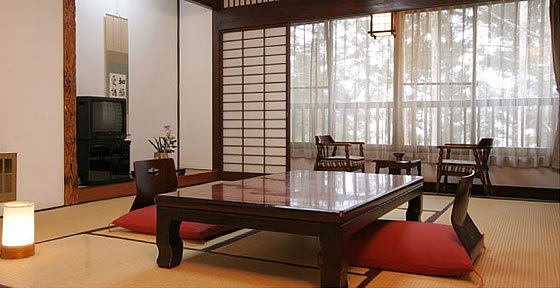 猿ヶ京温泉 湯豆のやど 本伝 一般客室イメージ 和室10畳+広縁付